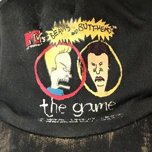 70866525223 beavis and butthead Accessories - Vintage Beavis and Butthead Thrashed Hat  A3300